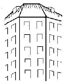 Tegning af Dalgashus